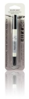 Silver Grey Ebible Food Pen